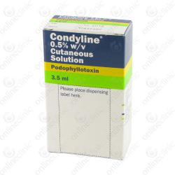 Condyline 0.5% 3.5 ml x 1